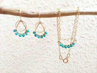 baby turquoise setの画像