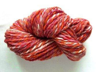 手紡ぎ糸 S16-1 100gの画像