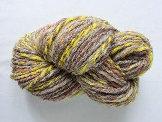 手紡ぎ糸 S16-4 100gの画像