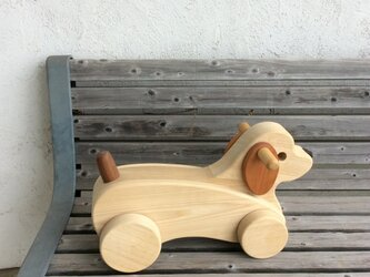 乗りもの ワンちゃん  [ zoo wood ]の画像