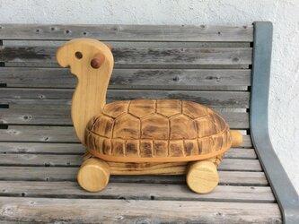 乗りもの  カメさん  [  zoo wood  ]の画像
