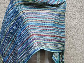 リネン手織ストールAの画像