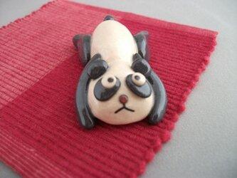 だらだらパンダの箸置きの画像