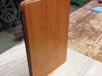 木製メモバインダー(ヤマザクラ)の画像