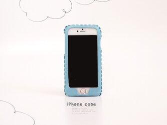 iPhone XR 対応・ iPhone各種レザーケース(そら)の画像