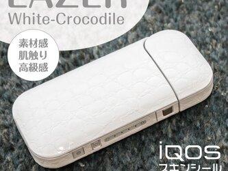 アイコス レザークロコダイル ステッカー IQOSの画像