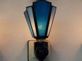 青のお休みランプ2の画像