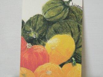 pumpkin / postcard 2枚組の画像