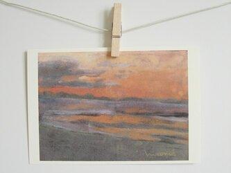 明け方の海 / postcard 2枚組の画像