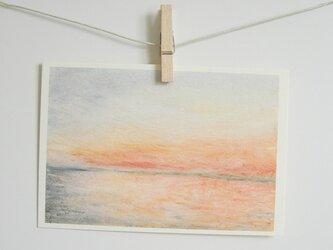 夕暮れの海 / postcard 2枚組の画像