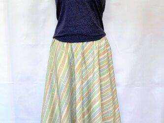 紬スカート:十日町紬 セミオーダー可の画像