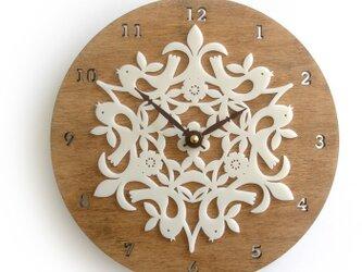Decoylabの掛け時計 BIRDIESの画像