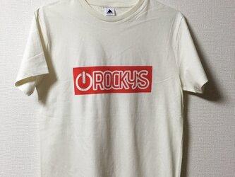 【Power on】Rocky's オリジナルTシャツ ナチュラルの画像