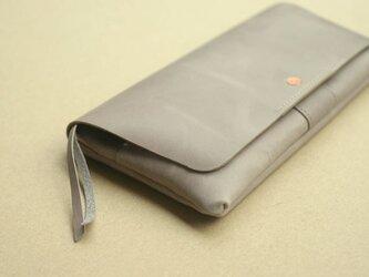 やわらかい革の長財布 WAX(牛革ワックス仕上げ)の画像