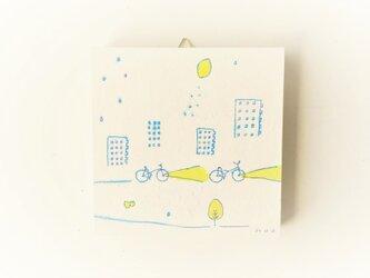 【受注制作】「レモンの夜に君とゆく」 ※ミニアートパネルの画像
