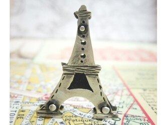 パリ エッフェル塔のネックレスの画像