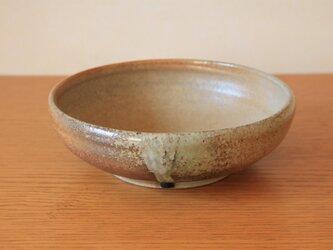 炭化平鉢  (七寸)の画像