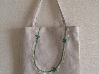 おさんぽバッグ 白詰草の首飾りの画像