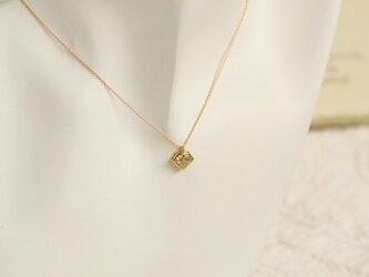 GN78ダイヤモンドチャームネックレスの画像