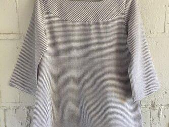 ラオス 手織り うすパープルの画像