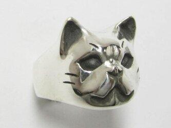 ブサカワ猫(ぶさかわねこ)PINKY RINGの画像