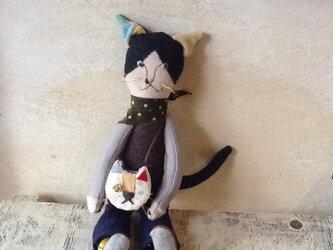 猫くんの猫バッグの画像