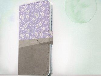 送料無料☆【手帳型】iPhone5/5s/SE/6/6s/6 Plus/6s Plus Cotton Cloth スマホケースの画像