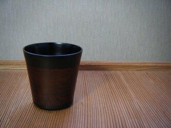 溜内黒コップ(猪口型)の画像