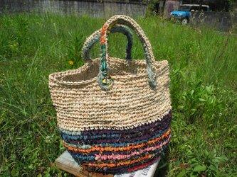 夏の庭バッグの画像