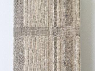 #16001 F0サイズ 手織りファブリックパネルの画像