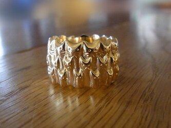 ネコ∞リング (ゴールド)の画像