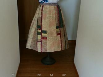エレガントスカート 一点品の画像