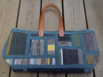 裂き織りバッグ NO17の画像
