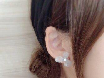 【幸せのおとずれ】紫陽花*淡水真珠の画像
