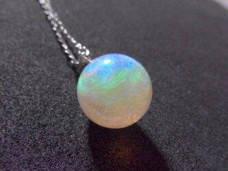 ネックレス 虹のしずく(2cm) 液体結晶の画像