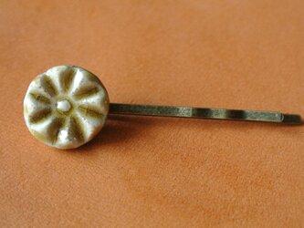 キセト花型ヘアピンの画像