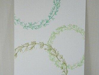 葉書〈水草リース-2〉の画像