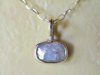 ローズカットダイヤモンド10kゴールド・ペンダントの画像