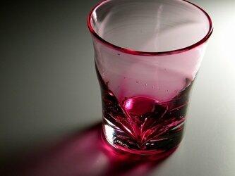 ラインぐい飲み(ピンク)の画像