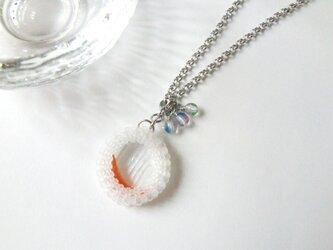 水鏡・霜(ネックレス)*受注制作の画像