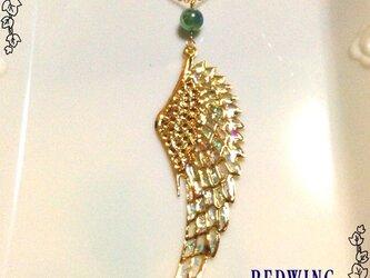 黄金の片翼ネックレスの画像