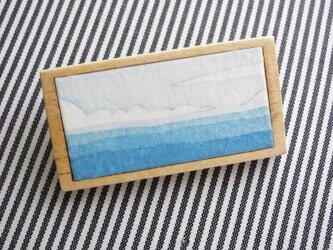 海のブローチの画像