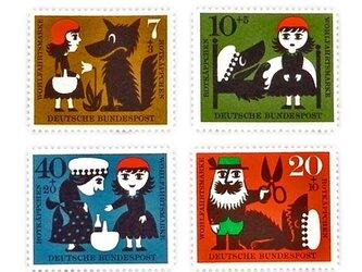 ドイツ童話切手(赤ずきん) Germany DA-STE061の画像