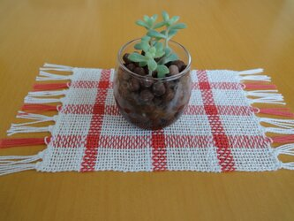 手織り ミニマット NO.4の画像