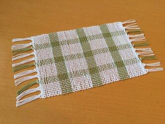 手織り ミニマット NO.5の画像