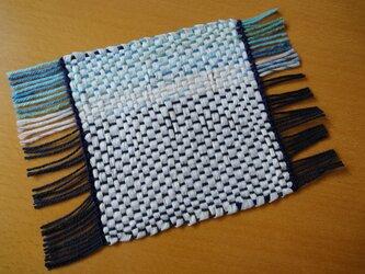 手織り 和紙コースター NO.1の画像