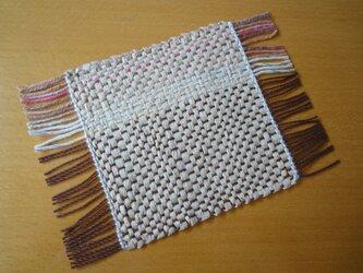 手織り 和紙コースター NO.3 の画像