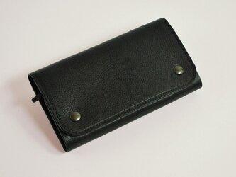 財布 wrap-L [ブラック]の画像