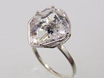 ハーキマー・ダイア  Herkimer Diamond Ring ⑤の画像
