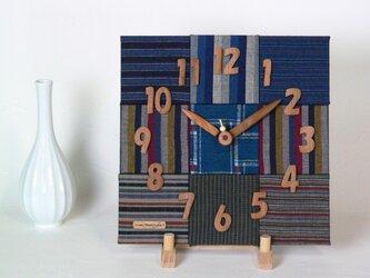 布時計 モザイク30cmの画像
